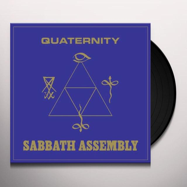 Sabbath Assembly QUATERNITY (LTD GOLD) Vinyl Record - UK Import