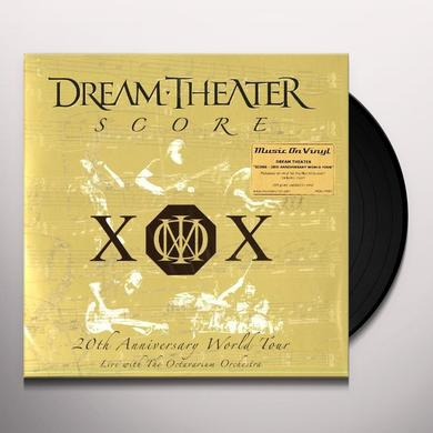 Dream Theater SCORE 20TH ANNIVERSARY WORLD TOUR Vinyl Record