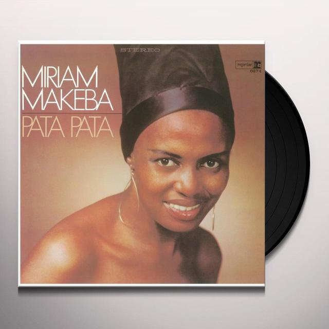 Miriam Makeba PATA PATA Vinyl Record - Holland Import