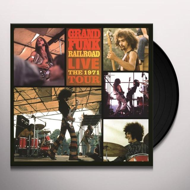 Grand Funk Railroad LIVE THE 1971 TOUR Vinyl Record - Holland Import
