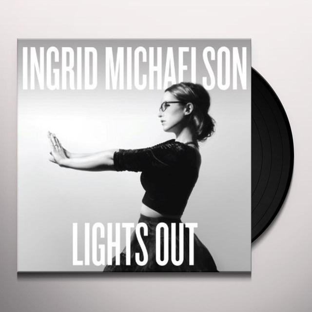 Ingrid Michaelson LIGHTS OUT Vinyl Record