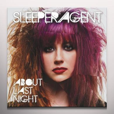 Sleeper Agent ABOUT LAST NIGHT Vinyl Record - Colored Vinyl, Limited Edition