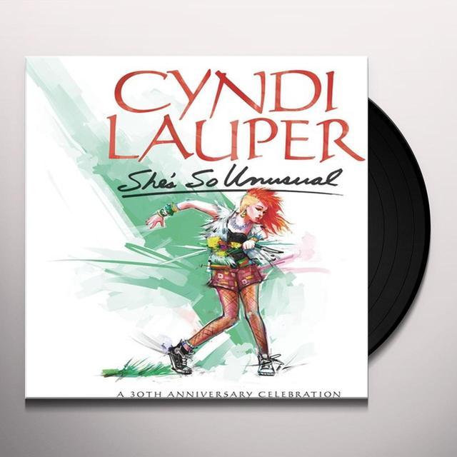 Cyndi Lauper SHE'S SO UNUSUAL: A 30TH ANNIVERSARY CELEBRATION Vinyl Record