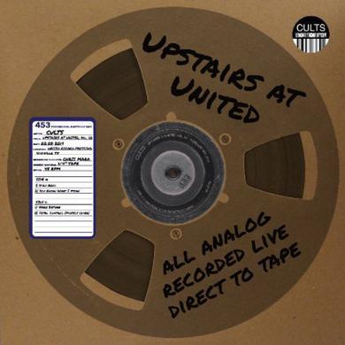 Cults UPSTAIRS AT UNITED 10 Vinyl Record