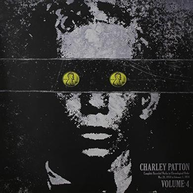 Charley Patton COMPLETE RECORDED WORKS IN CHRONOLOGICAL ORDER 4 Vinyl Record