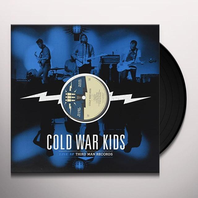 Cold War Kids LIVE AT THIRD MAN RECORDS Vinyl Record