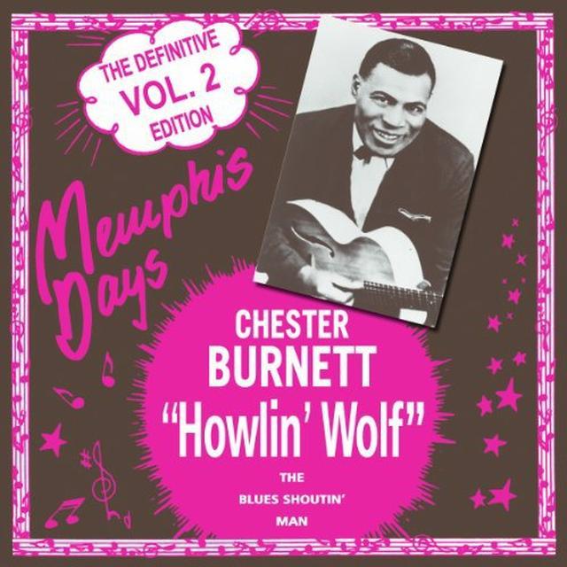 Howlin Wolf MEMPHIS DAYS: DEFINITIVE EDITION 2 Vinyl Record - Holland Import