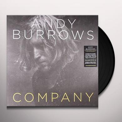 Andy Burrows COMPANY Vinyl Record