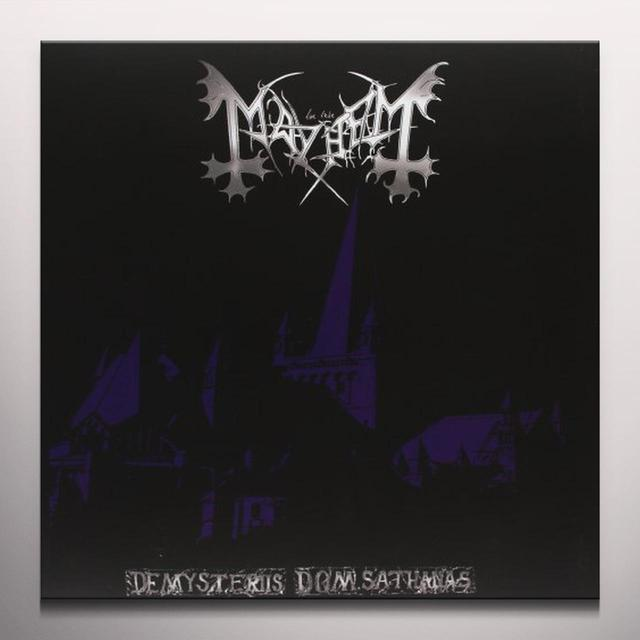 Mayhem DE MYSTERIES DOM SATHANS Vinyl Record - Colored Vinyl, Limited Edition
