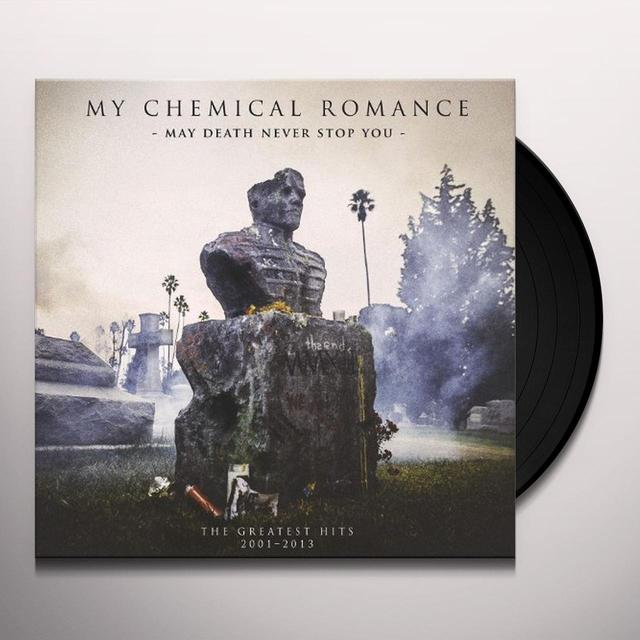 My Chemical Romance MAY DEATH NEVER STOP YOU (W/DVD) Vinyl Record - 180 Gram Pressing