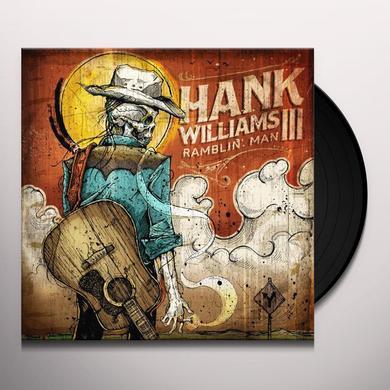 Hank Williams Iii RAMBLIN MAN (BONUS CD) Vinyl Record