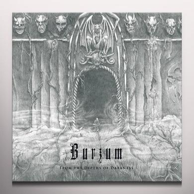 Burzum FROM THE DEPTHS OF DARKNESS Vinyl Record - Clear Vinyl, Limited Edition, 180 Gram Pressing