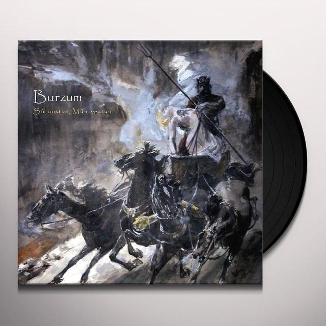 Burzum SOL AUSTAN MANI VESTAN Vinyl Record - Limited Edition, 180 Gram Pressing