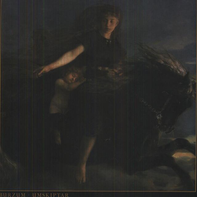 Burzum UMSKIPTAR Vinyl Record - Colored Vinyl, Limited Edition