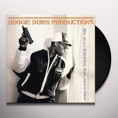 Boogie Down Productions BY ALL MEANS NECESSARY Vinyl Record