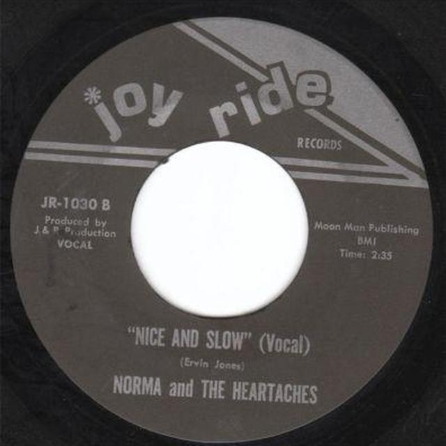 Norma & The Heartaches NICE & SLOW Vinyl Record - UK Release