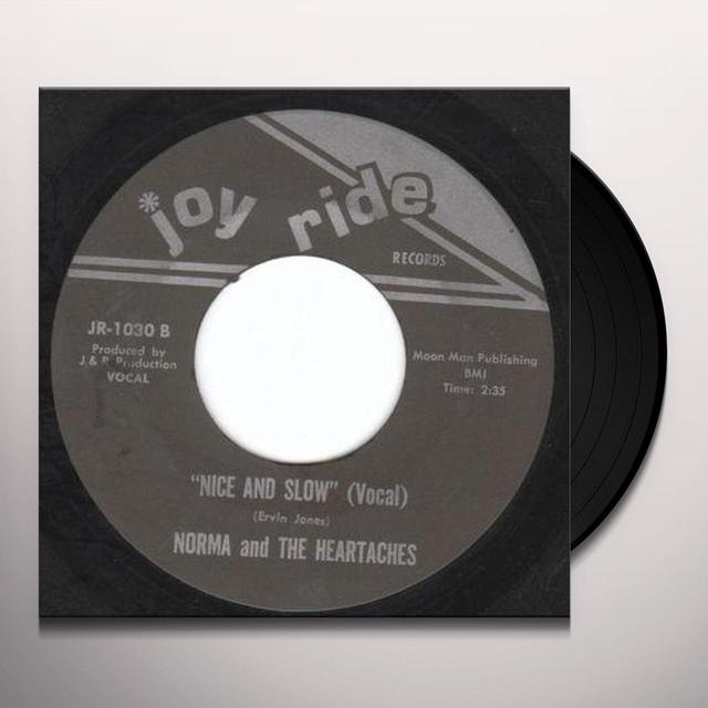 Norma & The Heartaches NICE & SLOW Vinyl Record - UK Import