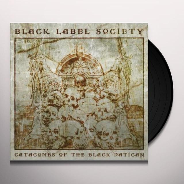 Black Label Society CATACOMBS OF THE BLACK VATICAN [LP COLORED] Vinyl Record - UK Import
