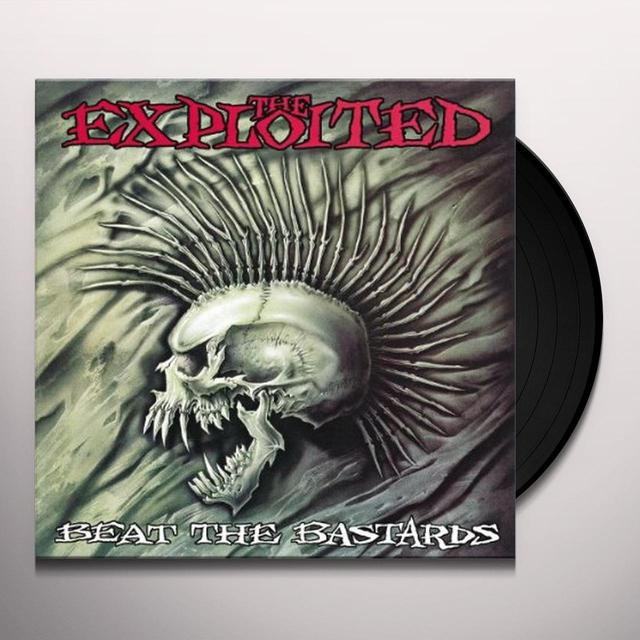 The Exploited BEAT THE BASTARDS (SPECIAL EDITION) Vinyl Record