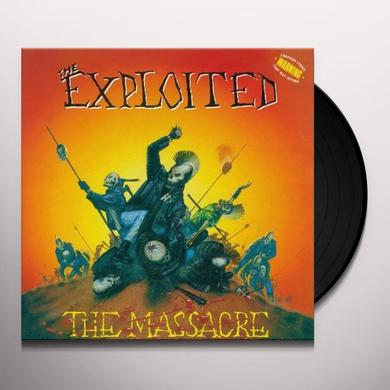 The Exploited MASSACRE (SPECIAL EDITION) Vinyl Record - UK Import
