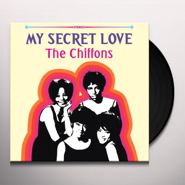 Chiffons MY SECRET LOVE Vinyl Record - UK Import