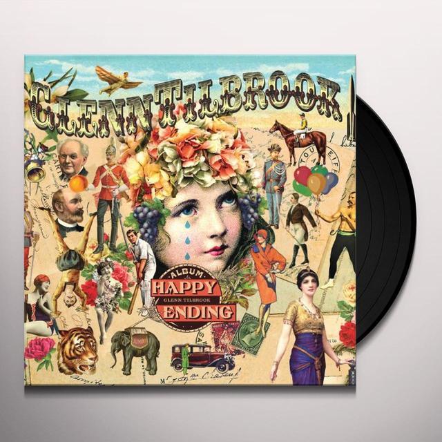Glenn Tilbrook HAPPY ENDING Vinyl Record - UK Import