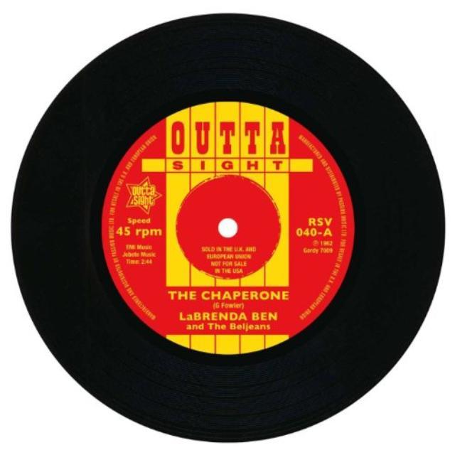 Saundra Mallett & The Vandellas CHAPERONE/CAMEL WALK Vinyl Record