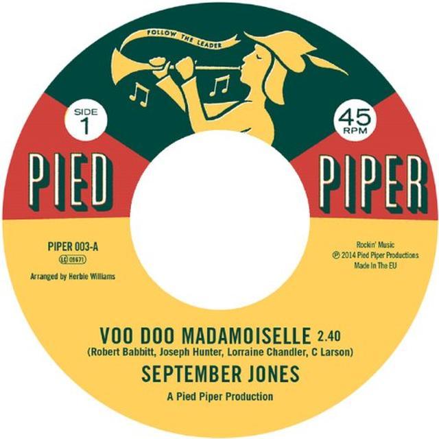 September Jones VOO DOO MADEMOISELLE Vinyl Record - UK Import