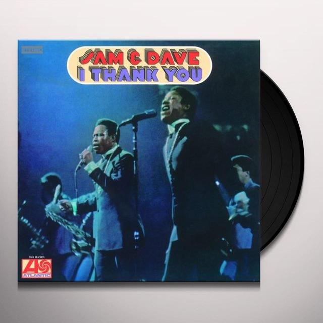Sam & Dave I THANK YOU Vinyl Record - Holland Import