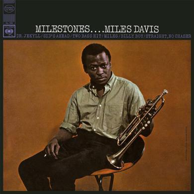 Miles Davis MILESTONES = STEREO = Vinyl Record