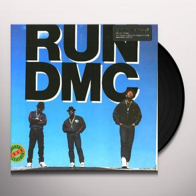 Run-Dmc TOUGHER THAN LEATHER Vinyl Record - Holland Import