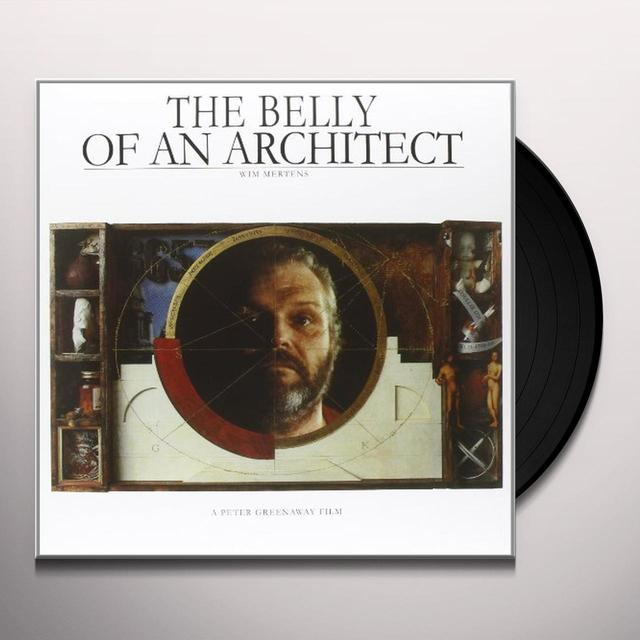 Wim Mertens THE BELLY OF AN ARCHITECT Vinyl Record - Holland Import
