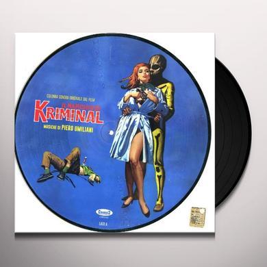 IL MARCHIO DI KRIMINAL / O.S.T. Vinyl Record