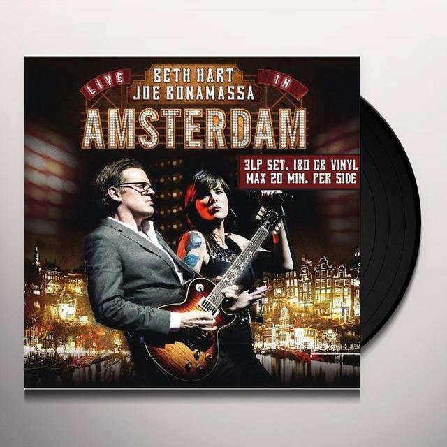 Beth Hart & Joe Bonamassa LIVE IN AMSTERDAM Vinyl Record - UK Import