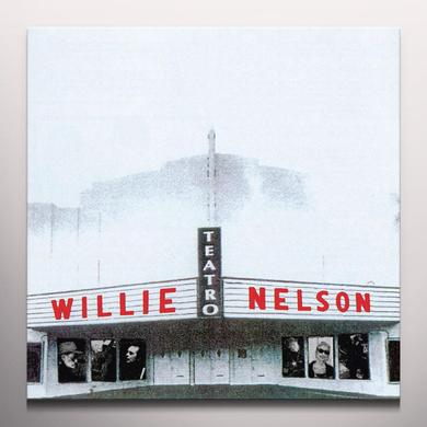 Willie Nelson TEATRO Vinyl Record - Gatefold Sleeve, Gold Vinyl, Limited Edition