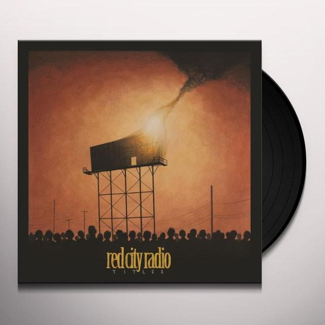 Red City Radio TITLES Vinyl Record