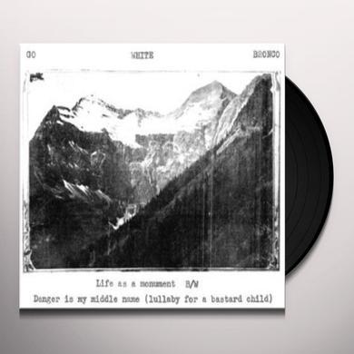 Go White Bronco LIFE AS A MONUMENT Vinyl Record