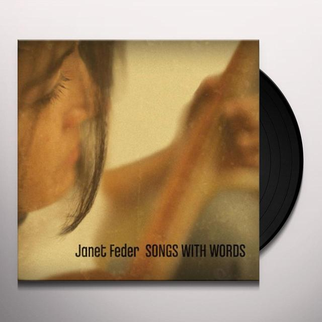 Janet Feder SONGS WITH WORDS Vinyl Record