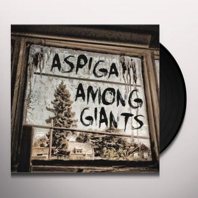 Aspiga AMONG GIANTS (SPLIT) Vinyl Record
