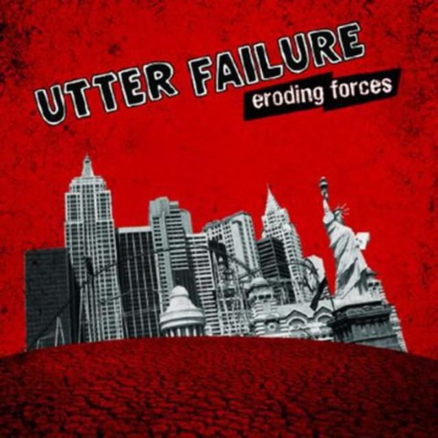 Utter Failure ERODING FORCES Vinyl Record