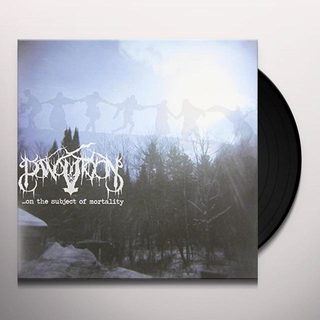 Panopticon ON THE SUBJECT OF MORTALITY Vinyl Record