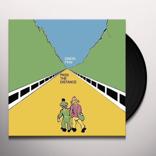 Simon Finn PASS THE DISTANCE Vinyl Record