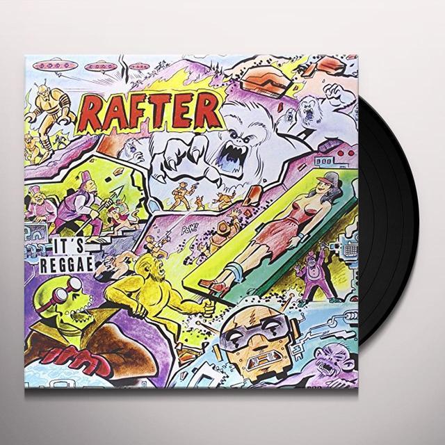 Rafter IT'S REGGAE Vinyl Record