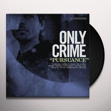 Only Crime PURSUANCE (BONUS CD) Vinyl Record