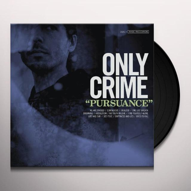Only Crime PURSUANCE (BONUS CD) Vinyl Record