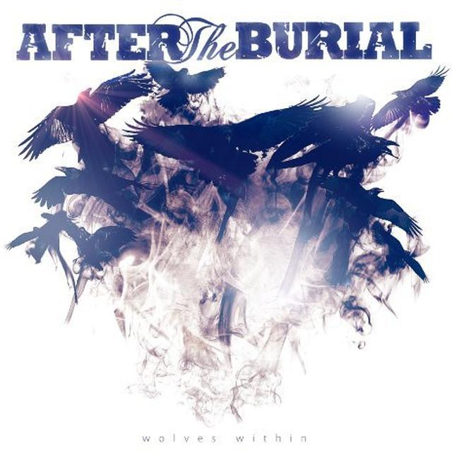 After The Burial WOLVES WITHIN (BLUE VINYL) Vinyl Record - Colored Vinyl
