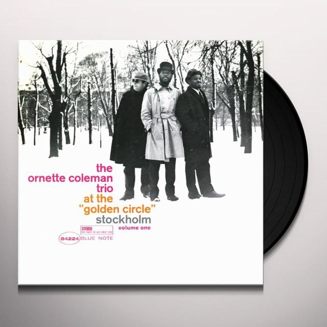 Ornette Coleman AT THE GOLDEN CIRCLE STOCKHOLM 1 Vinyl Record