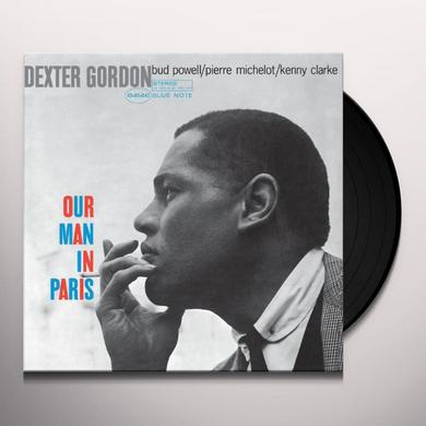 Dexter Gordon OUR MAN IN PARIS Vinyl Record