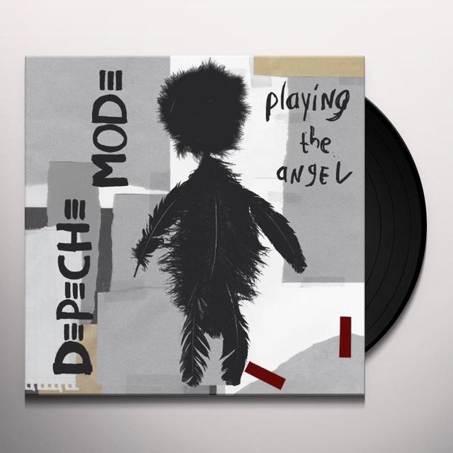 Depeche Mode PLAYING THE ANGEL Vinyl Record - 180 Gram Pressing