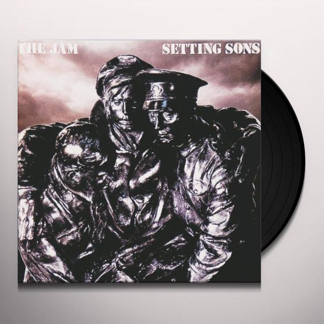 The Jam SETTING SONS (HK) Vinyl Record